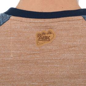 ABK Kunlun Shan Sweat-shirt à col ras-du-cou Homme, earth brown